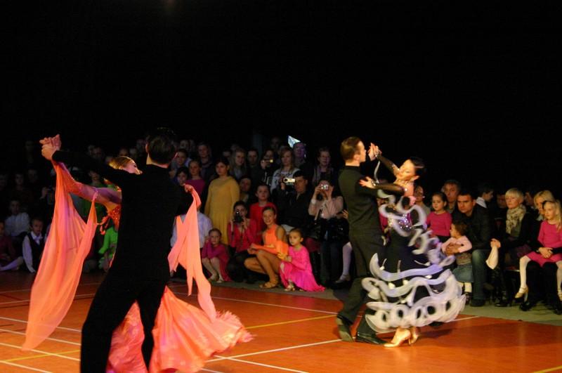 Pokazy tańca towarzyskiego - Łęknica
